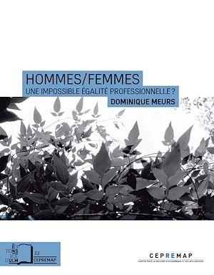 Téléchargez le livre :  Hommes /Femmes : Une impossible égalité professionnelle ?