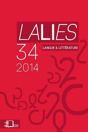 Téléchargez le livre :  Lalies 34