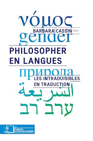Téléchargez le livre :  Philosopher en langues