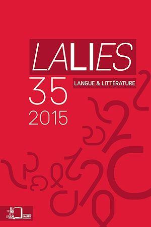 Téléchargez le livre :  Lalies 35