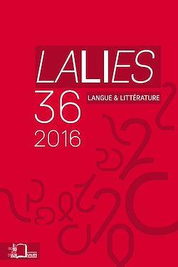 Téléchargez le livre numérique:  Lalies 36