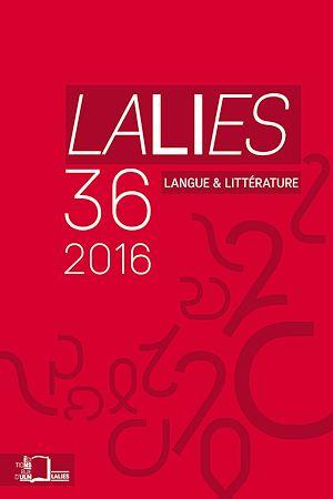 Téléchargez le livre :  Lalies 36