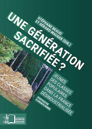 Téléchargez le livre :  Une génération sacrifiée ?