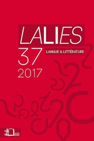 Téléchargez le livre :  Lalies 37