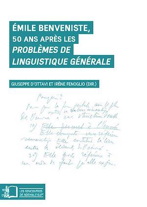Téléchargez le livre :  Émile Benveniste