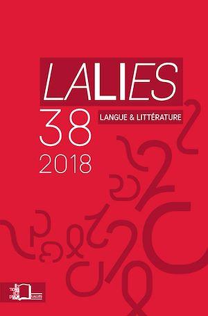 Téléchargez le livre :  Lalies 38