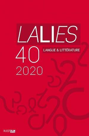 Téléchargez le livre :  Lalies n°40
