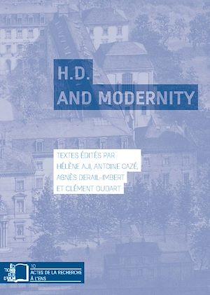 Téléchargez le livre :  H.D. and Modernity