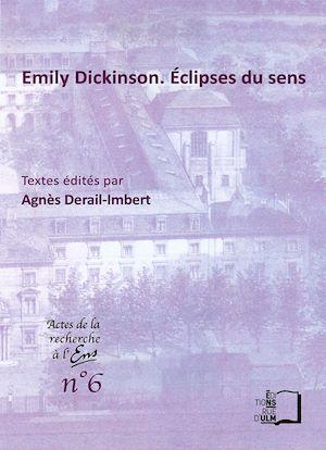 Téléchargez le livre :  Emily Dickinson. Éclipses du sens