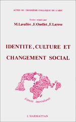 Télécharger le livre :  Identité, culture et changement social