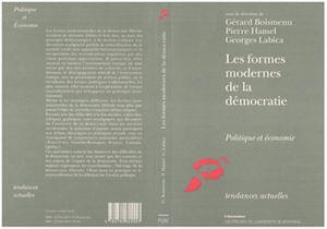 Téléchargez le livre :  Les formes modernes de la démocratie