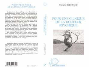 Téléchargez le livre :  Pour une clinique de la douleur psychique