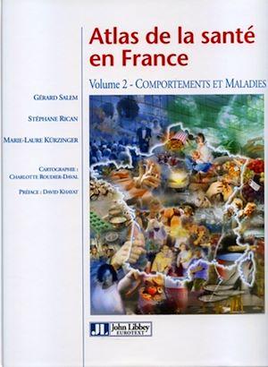 Téléchargez le livre :  Atlas de la santé en France - Volume 2