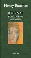Téléchargez le livre numérique:  Journal d'Antigone 1989-1997