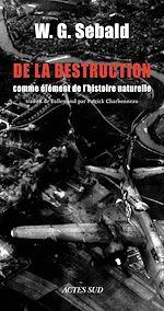 Télécharger le livre :  De la destruction