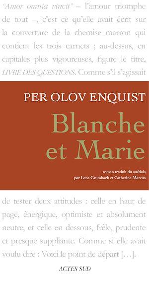 Téléchargez le livre :  Blanche et Marie
