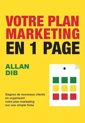 Téléchargez le livre :  Votre plan marketing en 1 page