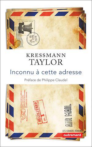 Téléchargez le livre :  Inconnu à cette adresse