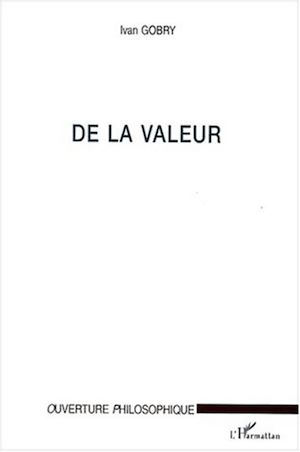 Téléchargez le livre :  DE LA VALEUR