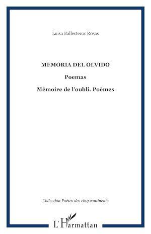 Téléchargez le livre :  MEMORIA DEL OLVIDO