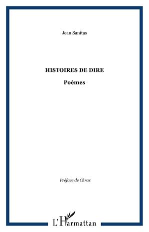 Téléchargez le livre :  HISTOIRES DE DIRE