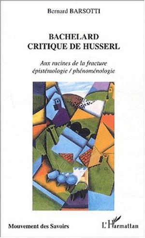 Téléchargez le livre :  BACHELARD CRITIQUE DE HUSSERL