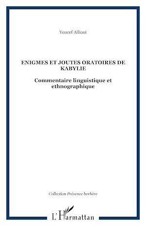 Téléchargez le livre :  Enigmes et joutes oratoires de Kabylie