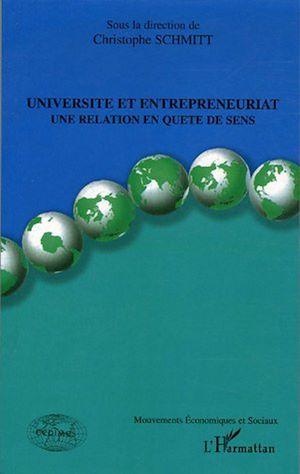 Téléchargez le livre :  Université et entrepreneuriat