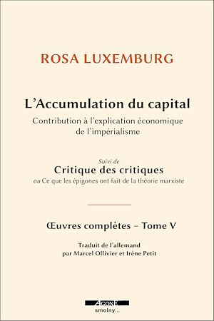 Téléchargez le livre :  L'accumulation du capital