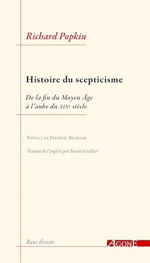Téléchargez le livre :  Histoire du scepticisme