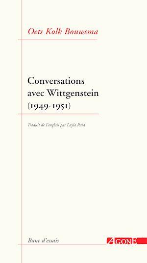 Téléchargez le livre :  Conversations avec Wittgenstein (1949-1951)