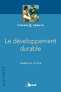 Télécharger le livre : Le développement durable