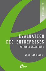 Télécharger le livre :  Évaluation des entreprises. Méthodes classiques