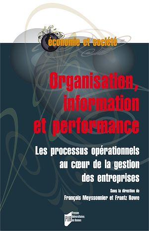 Téléchargez le livre :  Organisation, information et performance