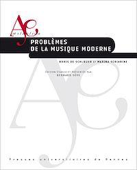 Télécharger le livre : Problèmes de la musique moderne