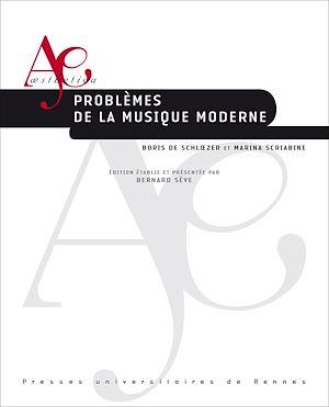 Téléchargez le livre :  Problèmes de la musique moderne