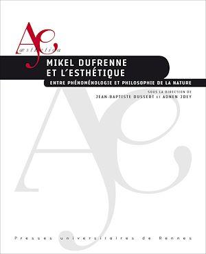 Téléchargez le livre :  Mikel Dufrenne et l'esthétique