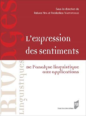 Téléchargez le livre :  L'expression des sentiments