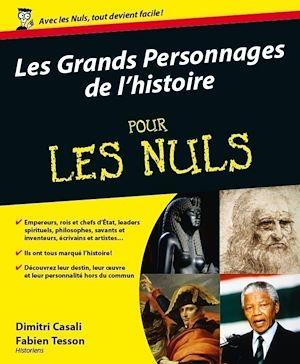 Téléchargez le livre :  Les Grands personnages de l'histoire pour les Nuls