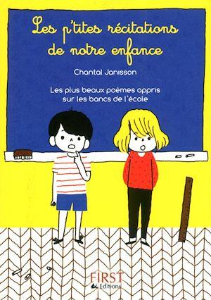 Téléchargez le livre :  Petit livre de - P'tites récitations de notre enfance