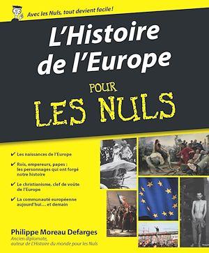Téléchargez le livre :  Histoire de l'Europe pour les Nuls