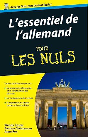 Téléchargez le livre :  Essentiel de l'allemand Pour les Nuls