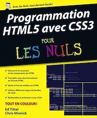 Télécharger le livre : Programmation HTML5 avec CSS3 Pour les Nuls