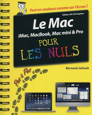 Téléchargez le livre :  Le Mac pas à pas pour les Nuls édition OS X El Capitan
