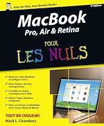 Télécharger cet ebook : MacBook Pro, Air & Retina pour les Nuls, 4e édition