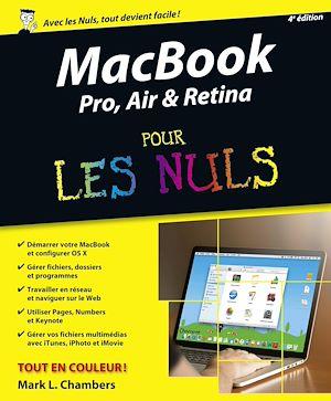 Téléchargez le livre :  MacBook Pro, Air & Retina pour les Nuls, 4e édition