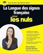 Télécharger le livre :  La Langue des Signes Française pour les Nuls grand format
