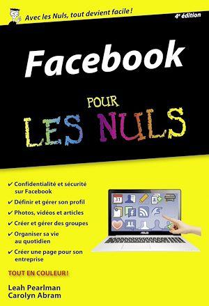 Téléchargez le livre :  Facebook Poche Pour les Nuls, 4ème édition