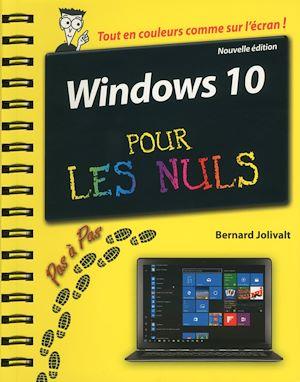 Téléchargez le livre :  Windows 10 pas à pas pour les Nuls, 2e