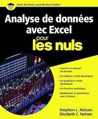 Télécharger le livre : Analyse de données avec Excel pour les Nuls